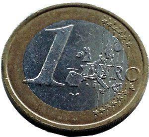 Eine (hoffentlich faire) Ein-Euro-Münze. Eigenes Bild.