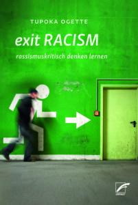 """Titelseite des Buches """"exit RACISM"""" von Tupoka Ogette"""