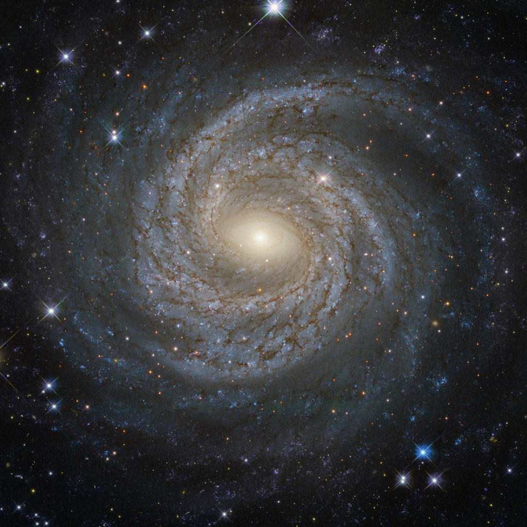 Astronomische Beobachtungen wie dieses Bild hier: Letztlich nur Photonenzählen, Photonenenergien und Richtungen bestimmen