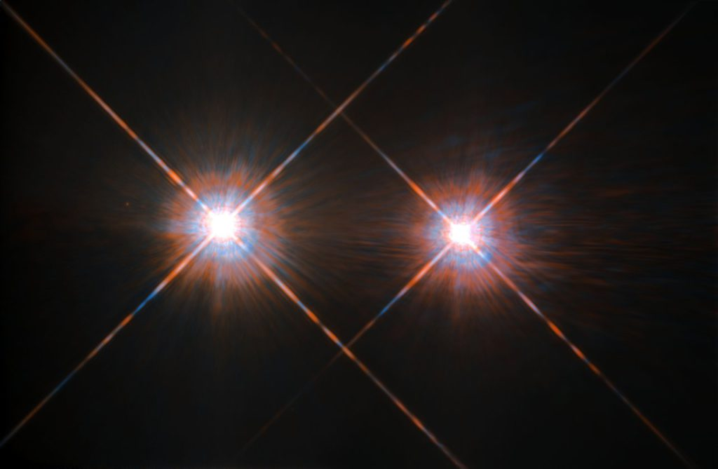 Alpha Centauri A und B: astronomische Trugbilder im Doppelpack