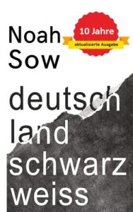 Titelbild des Buches Noah Sow, deutschland schwarzweiß