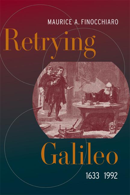 Der Prozess gegen Galileo im Buch