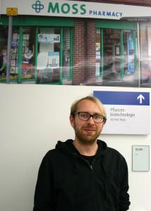 Doktorand Timo Lorenz, Arbeitsgruppe Ralf Reski