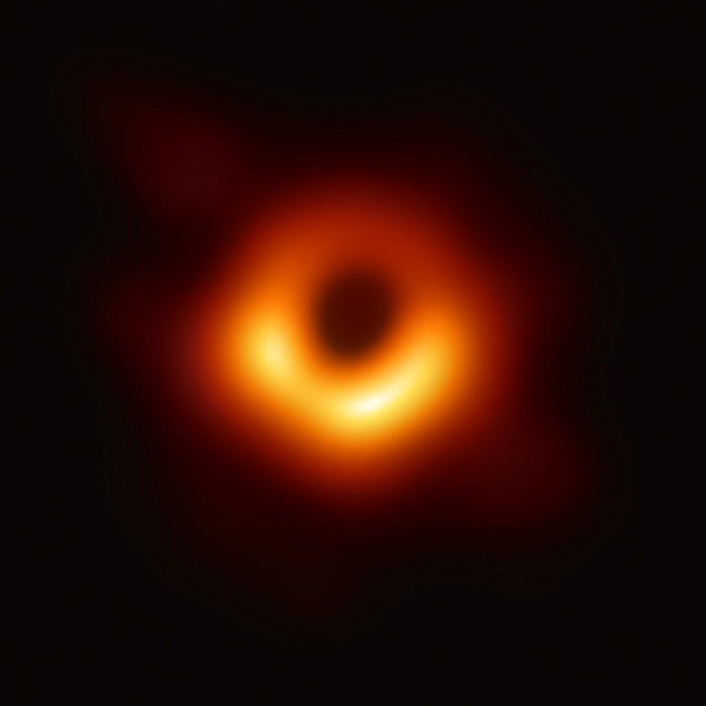 Jahresrückschau: Das erste Foto vom Schwarzen Loch - echt jetzt? » Uhura Uraniae » SciLogs - Wissenschaftsblogs