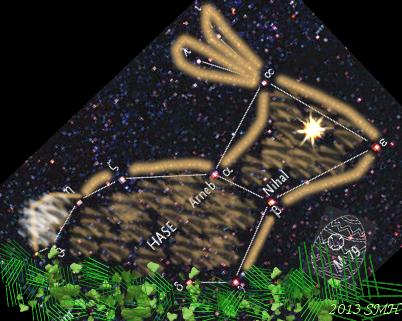 Sternbild (Oster)Hase » Uhura Uraniae » SciLogs - Wissenschaftsblogs