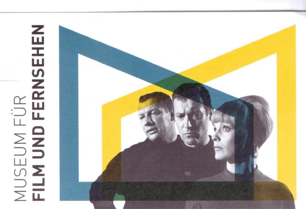 soziale Astro-Gruppe im Film (Eintrittskarte des Filmmuseums in Berlin)