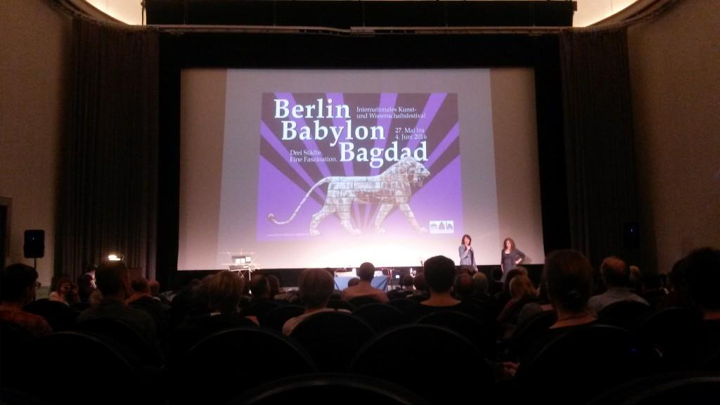 Eröffnungsveranstaltung im Kino Babylon in Berlin Mitte.