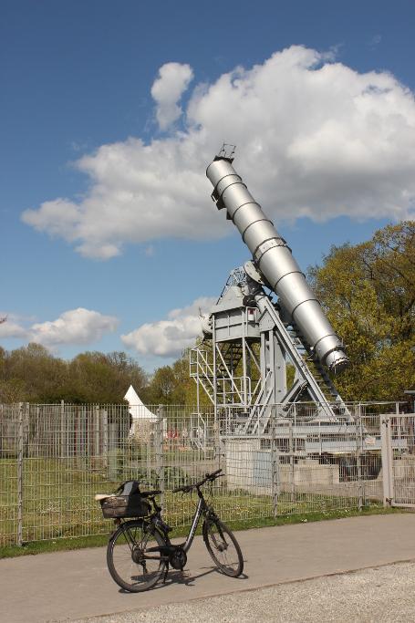 """""""mein"""" Rathenower Teleskop, ein kurzes, Riesen-Wunderwerk!"""