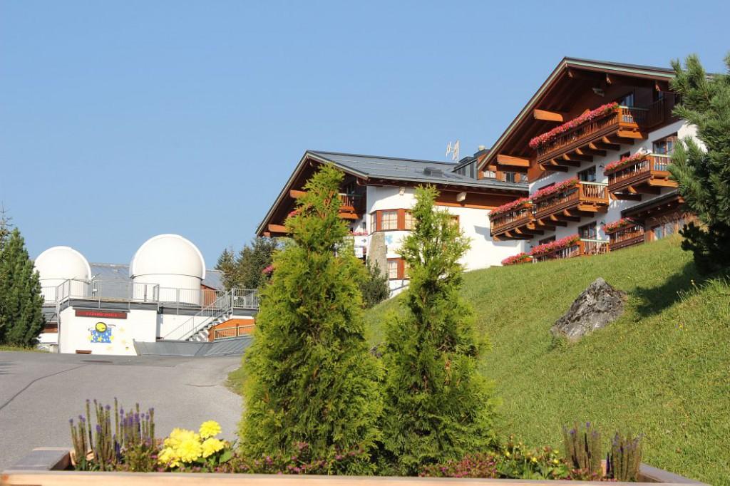 Sternwarte und Planetarium Königsleiten.
