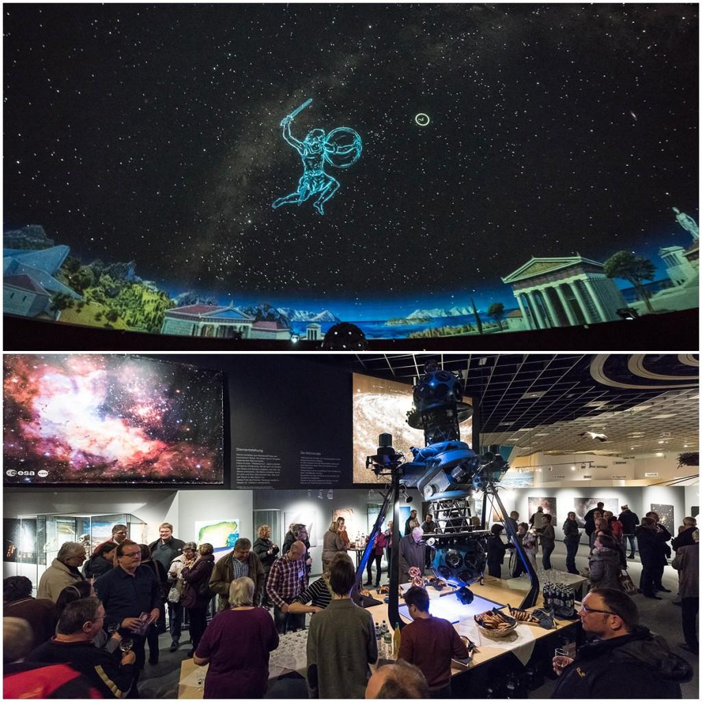After-Show Party, aufgenommen und publiziert vom LWL Planetarium Münster.