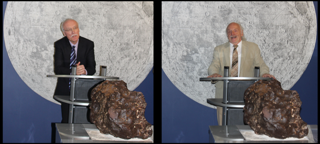 Ansprachen von Herrn Dr. Böndel (Stiftung Dt. Technikmuseum) und Herrn Dr. Hoffmann (WFS Berlin).