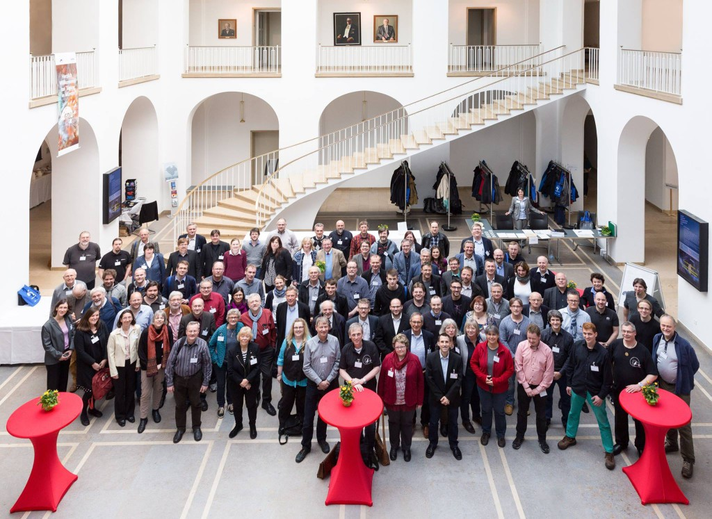 Gruppenfoto der GDP-Tagung am Sonntag von Michael Schomann