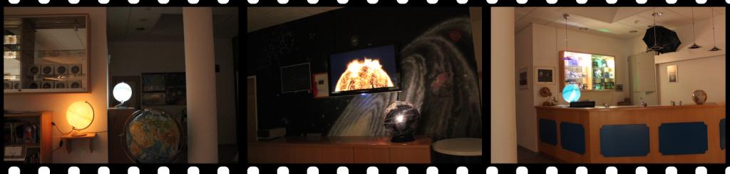 Foyer des Planetariums zu Weihnachten 2015