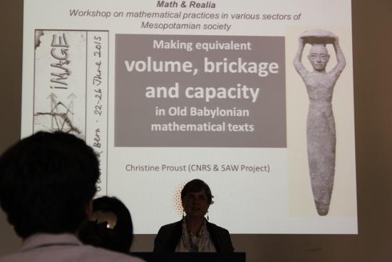 """""""altbabylonische"""" Mathematik reicht bis ins beginnende -2. Jt. zurück. Auf der RAI gaben sich einige Größen der Mathematikgeschichte ein Stelldichein."""