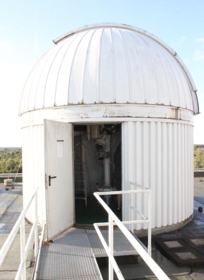 Kieler Sternwarte für Astrophysik-Praktikum.