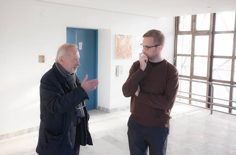 der Direktor des Neubaus und der Direktor des Wieder-Neubaus (Nov. 2015)