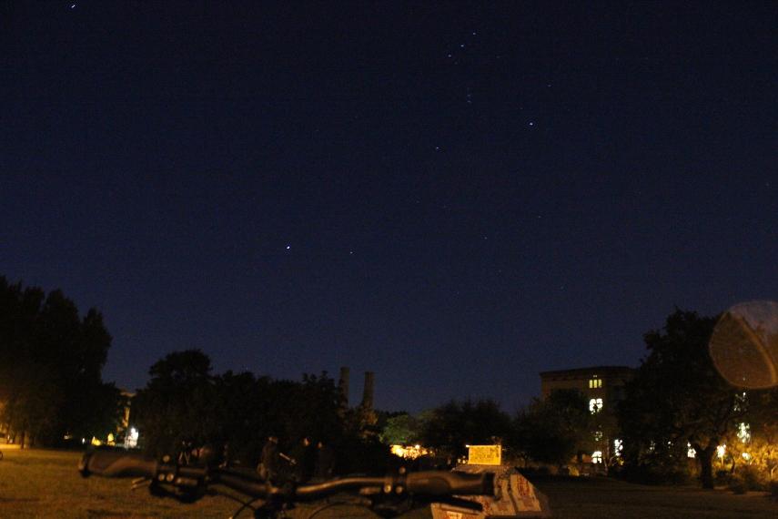 MoFi-Beobachter unterm Orion