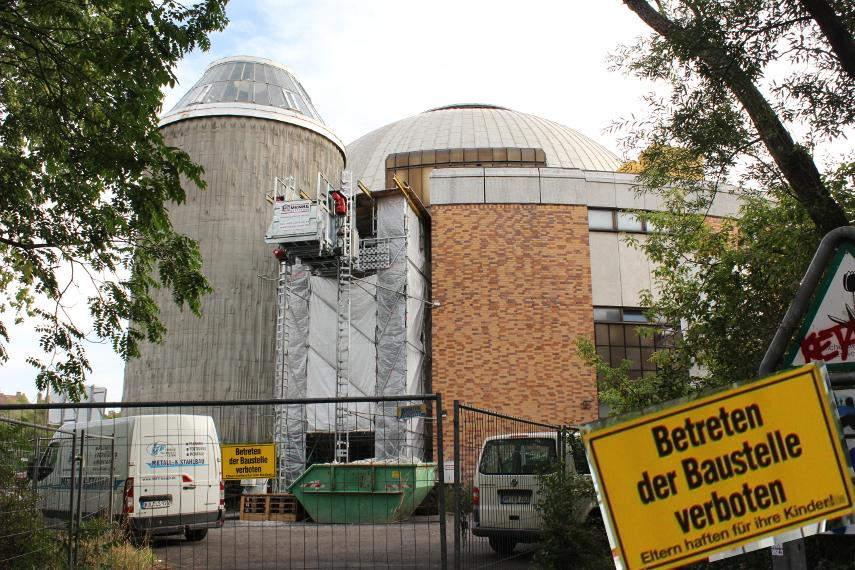 Astro-Baustelle Berlin
