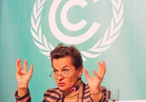 Beschwörung: UN-Klimachefin Christiana Figueres hofft auf neuen Elan in der kommenden Verhandlungswoche. Foto: Nick Reimer
