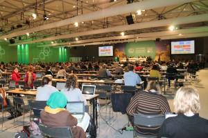Verhandlungssaal COP 19 in Warschau. Foto: Susanne Schwarz