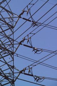 Stromleitungen. Foto: André Künzelmann/UFZ