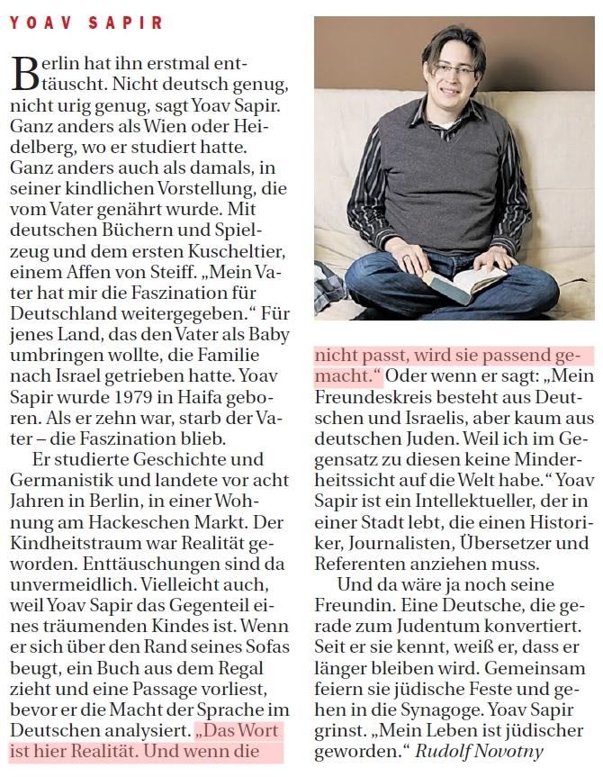 Berliner Zeitung 9.11.2013