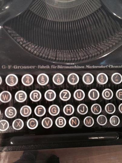schreibmaschine 0