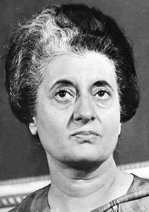 Indira Gandhi, 1977