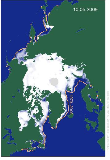 Arktisches Meereis 2009, Dirk Notz