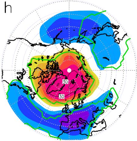 Also abnormal hoher luftdruck zwischen skandinavien und grönland und