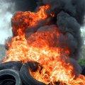 Brennende Reifen (Foto: Rolf van Melis/Pixelio)