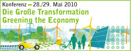 Greening the Economy Logo (Foto: Böll-Stiftung)
