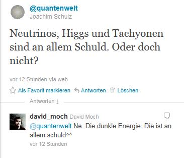 Dialog auf Twitter