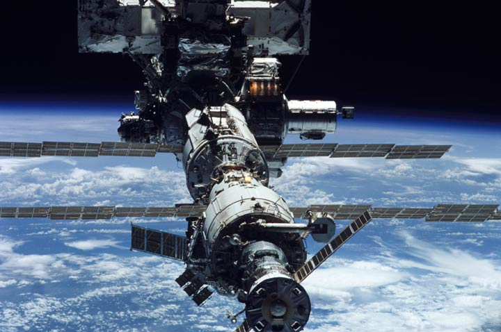 Bild der ISS - NASA