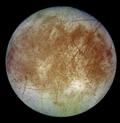 Bild des Jupiter-Monds Europa (NASA/JPL/DLR)