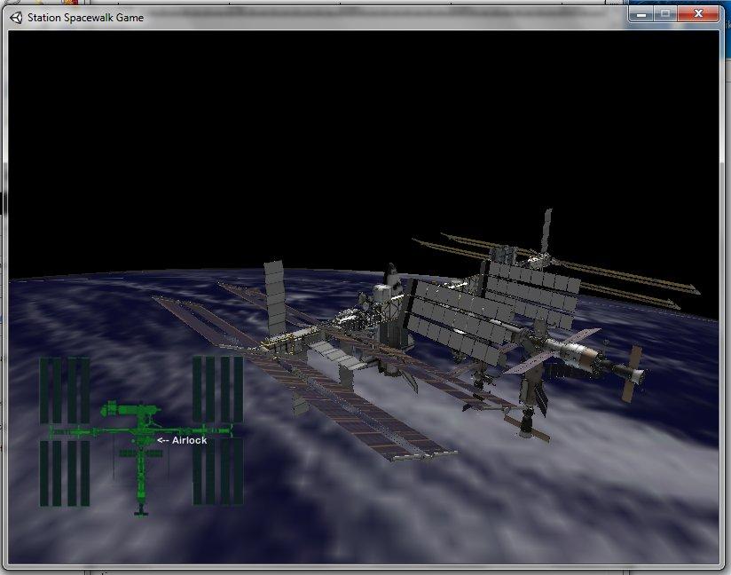 NASA Station Spacewalk Game