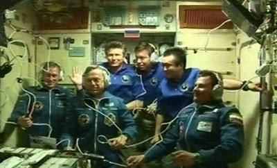 ISS Besatzung