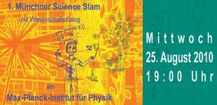Logo 1. Science Slam München