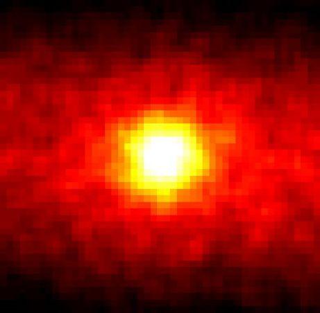 Bild der Sonne mit Neutrinos - Super-Kamiokande R. Svoboda and K. Gordan (LSU)