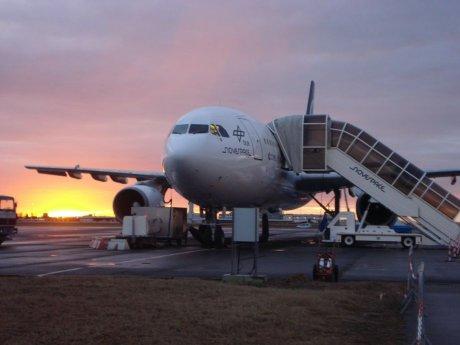 Das Parabelflug-Flugzeug