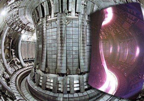 JET plasma vessel
