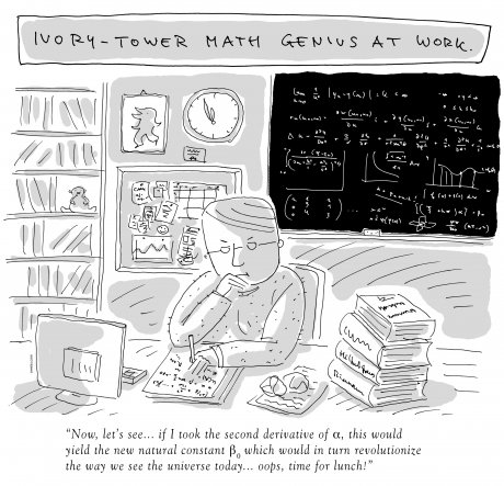 Oliver Weiss - Math Genius in Ivory Tower