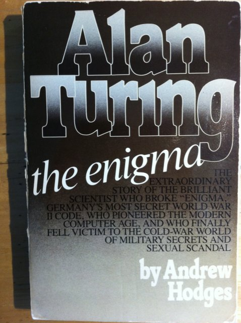 Turing biography by Andrew Hodges, Cover photo