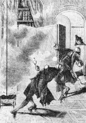 Richmanns Tod nach einer Darstellung aus dem 19. Jhd.