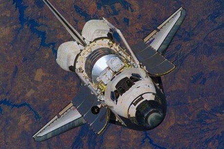 Space Shuttle Discovery (Danke an die NASA für die Zuverfügungstellung)