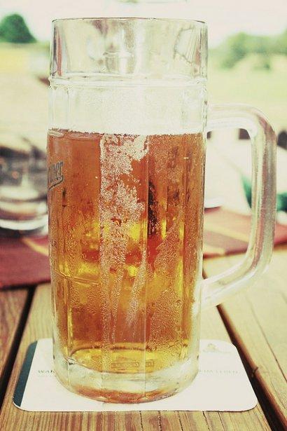 Ein Bier! Wie schön!