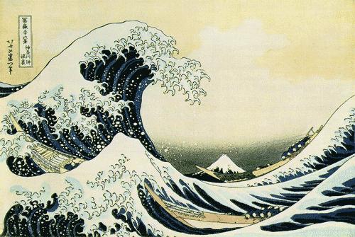Hokusai: Die große Welle