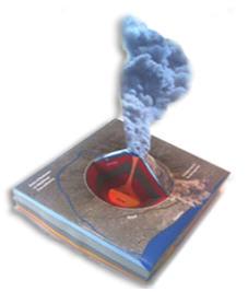 simples 3-D Modell des Eyjafjallajökull
