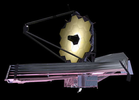 James Webb Space Telescope. Bild: NASA