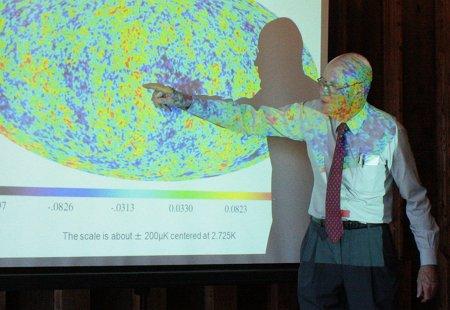 Wilson mit aufprojizierten Fluktuationen der Hintergrundstrahlung